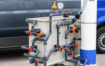 pilotażowy system oczyszczania wody
